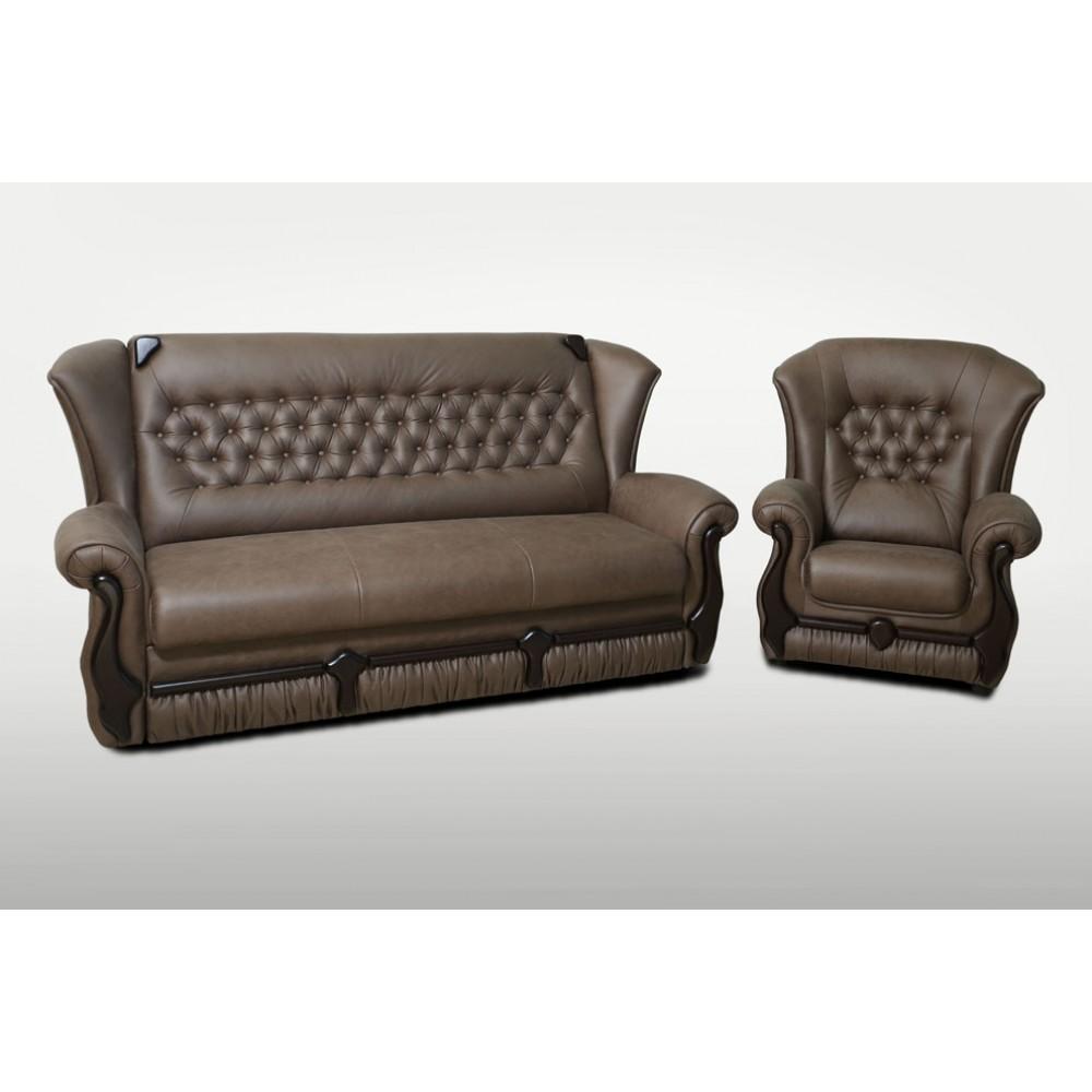 Прямой диван Кардинал-2 1650x1000